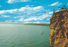 Big Daddy Bluff and Lake Tenkiller, Oklahoma ~many summers spent right here at this bluff.