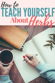 How to teach yourself about herbs. Learn where to start when you're interested in herbalism. Become an herbalist, and thrive in natural living! Great way to be the healer in your family. via @The Happy Herbal Home