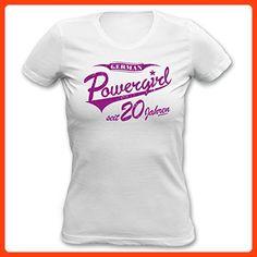T-Shirt m Spruch für den 50 Geburtstag German Powergirl seit 1969