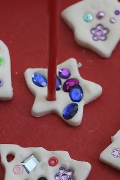 white clay dough ornaments - happy hooligans - easy white clay recipe