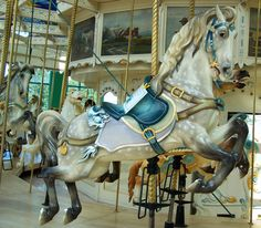 Carousel Center Carousel at the Carousel Center Mall, Syracuse, NY (by Ann Lioio)