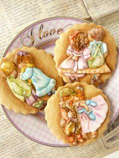 Be SweetLi Brasil: Royal Icing Recipe Galletas Cookies, Iced Cookies, Cute Cookies, Cupcake Cookies, Cupcakes, Sweet Cookies, Sugar Cookies, Paint Cookies, Cookie Time