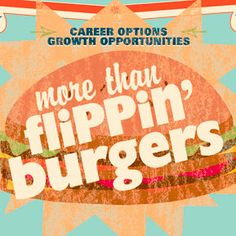 """Career Cente """"more than flippin' burgers"""""""