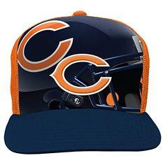 Chicago Bears Flat Bill Hats
