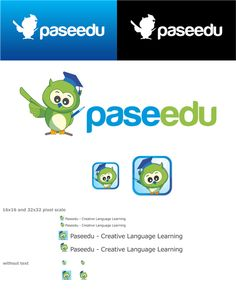 Winning logo for Creative Language Learning - Paseedu by Dito.K