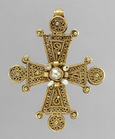Pectoral Cross, 1200–1400 Byzantine