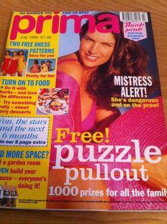 Prima Magazine Knitting Patterns : prima magazine fashions craft knitting beauty may 1994 eBay 90s Beau...