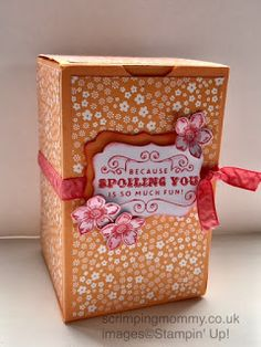 scrimpingmommy: Make any box fit any size card stock