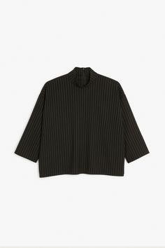 Monki Image 1 of Collared blouse  in Black