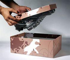 Reebok climbing shoes packaging