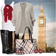 """""""Fall in London"""" by angkclaxton on Polyvore"""