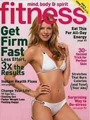 Fitness Magazine Only $4.29 Per Year