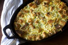 corn, cheddar and scallion strata (for breakfast, lunch boxes, dinner and beyond) | smittenkitchen.com