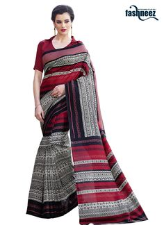 This brilliant array will make you the ultimate classic beauty at the next event you attend. Create a smoldering impact by this multi colour pashmina casual saree. This ravishing attire is amazingly e...