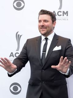 Chris Young on the red carpet at the 10th Annual ACM