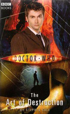Doctor Who BBC Novel  THE ART OF DESTRUCTION by STEPHEN COLE  paperback