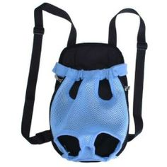 Front Style Pet Dog Carrier Backpack w/ Legs Out Design - Size S