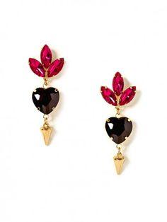 @BaubleBar heart drop earrings