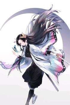 Demon Slayer: Kimetsu no Yaiba, tabi socks, Demon Slayer bookmarks / かなえ - pixiv Anime Neko, Kawaii Anime Girl, Otaku Anime, Manga Anime, Fan Art Anime, Anime Art Girl, Manga Art, Anime Girls, Anime Angel