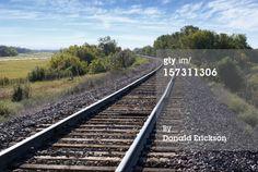 Stock Photo : railroad tracks