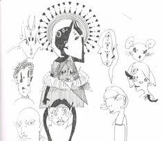 Sketchbook page by Marika Reis