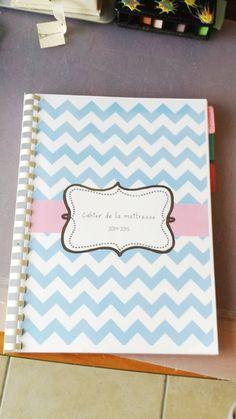 DIY un agenda avec un semainier, un cahier de planification personnalisé
