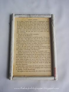 rolled paper frame