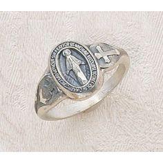 Miraculous Medal Ring