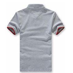 2016  New Men's Summer Short Sleeve Stand Collar  Polo Shirt #shoes, #jewelry, #women, #men, #hats
