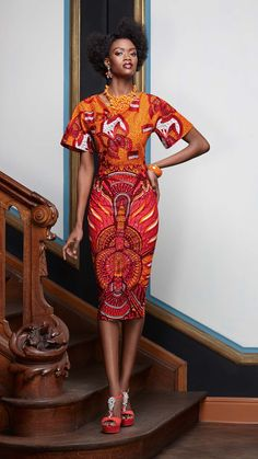 Élégance innée | Vlisco V-Inspired ~Latest African Fashion, African Prints, African fashion styles, African clothing, Nigerian style, Ghanaian fashion, African women dresses, African Bags, African shoes, Nigerian fashion, Ankara, Kitenge, Aso okè, Kenté, brocade. ~DKK