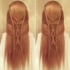 Hair Style Joda : ... on Pinterest Butterfly Hairstyle, Butterfly Hair and Girl Hairstyles