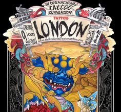 Stacie Michelle: 9th International London Tattoo Convention - Two Months To Go!