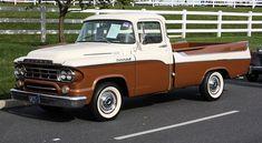 1959 Dodge D100 Sweptside Pick-Up. Dodge Pickup Trucks, Vintage Pickup Trucks, Classic Chevy Trucks, Dump Trucks, Hot Rod Trucks, Cool Trucks, Big Trucks, 4x4, Dodge Power Wagon