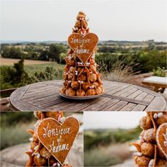 Chateau de Brametourte Croquembouche wedding cake by Wild Connections Photography Croquembouche, Anna, French Wedding, Wedding Cakes, Destination Wedding, Wedding Inspiration, Place Card Holders, Table Decorations, Photography