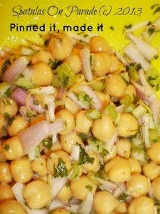 chickpea crunchy salad