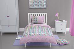 Pink floral toddler duvet Childrens Duvet Covers, Girls Duvet Covers, Toddler Duvet Set, Toddler Bed, Toddler Girls, Pink Pillow Cases, Pink Pillows, Floral Lampshade