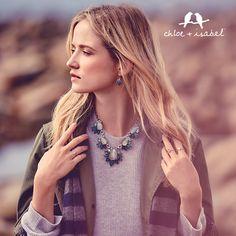 Shop stunning jewels for Fall in my boutique! www.chloeandisabel.com/boutique/Rachelherring