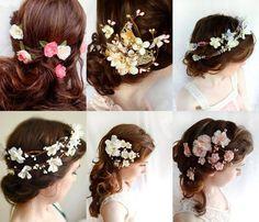 Nice hair for wedding day