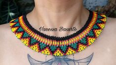 Beading Tutorials, Crochet Necklace, Jewelry, Youtube, Fashion, How To Make Necklaces, Ear Rings, Statement Necklaces, Loom Band Bracelets