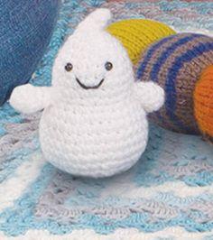 Craftdrawer Crafts: Easy to Crochet Halloween Ghost Pattern