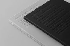 Graphics we like / Embosed / Debossed / Font / Cover / Black / grey / at fiona.