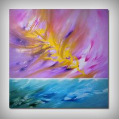 Buy Narciso - 80x80 cm,  LARGE XL, FREE SHIPPING EU / USA / UK, Original abstract painting, oil on canvas, Oil painting by Davide De Palma on Artfinder. Discover thousands of other original paintings, prints, sculptures and photography from independent artists.
