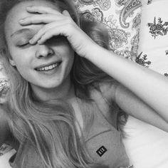 #girl #happy #smile #fashion #black