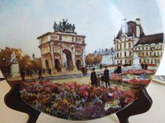 Henri D'Arceau L & Fils Plate Jadin Des Tuileries by marciashouse, $12.00