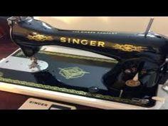 (8) Como ajustar las piezas del cangrejo en maquinas antiguas | mecanica confeccion - YouTube Sewing Patterns, Singer, Couture, Sewing Tips, Vestidos, Old Sewing Machines, Sewing Needles, Embroidery Machines, Needlepoint