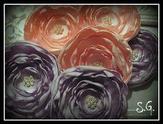 ribbon flowers 2