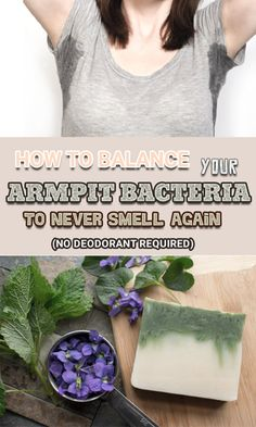 LEARN HOW TO BALANCE YOUR ARMPIT BACTERIA TO AVOID BAD SMELL (NO DEODORANT NEEDED)!!!~!!! ```