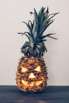 Ananas décoré - halloween