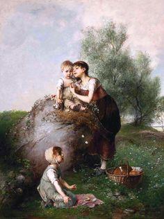 "Emil Keyser, ""The First Picnic"""