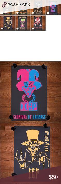 Insane Clown Posse Banner Carnival Of Carnage Flag ICP Poster Joker Card 3x5 ft
